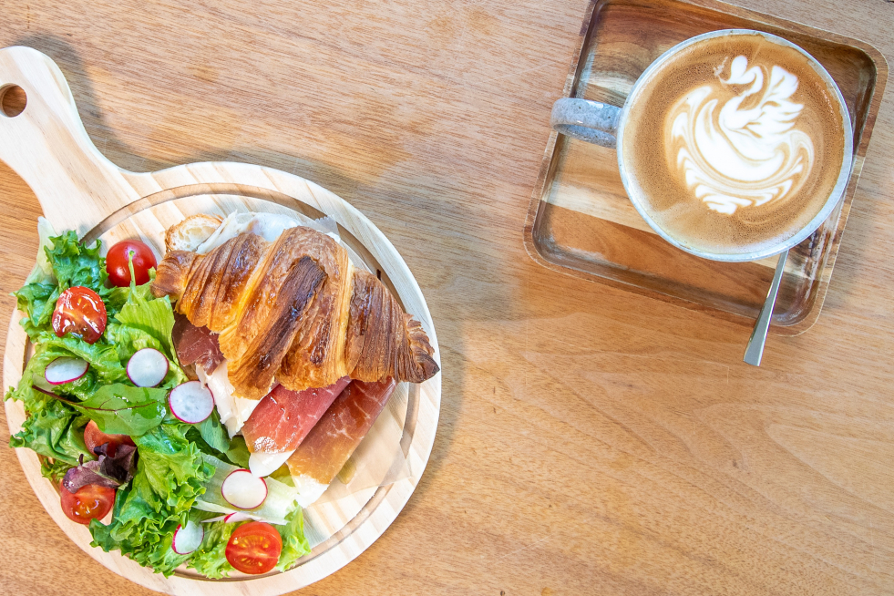 Cafe Sandwich and Coffee