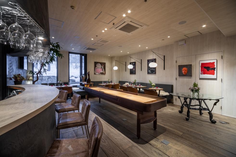 Bar & Lounge + Shuffleboard