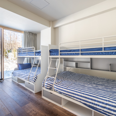 Townhouse Bunkbed Room